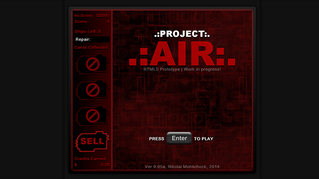 Project Air [Web-based HTML5]